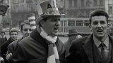Fanoušci Ajaxu v Praze