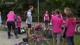 Mladí cyklisté si zazávodili v pankráckém parku