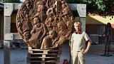 Horní Kalná: sochy z bronzu