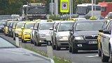 Stávka taxikářů