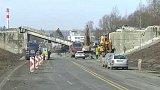 Nehoda při demolici mostu