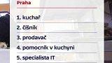Nejpoptávanější profese v Česku
