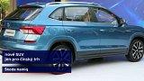 Automobilka Škoda představila vůz Kamiq