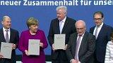 Koaliční smlouva v Německu