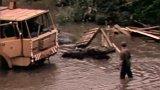 Komplikace při stavbě Barrandovského mostu (1981)