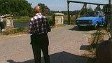 Zavedení mostného kvůli opravě mostu (1992)