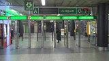 Uzavření vstupů metra
