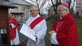 Žehnání zvoničky v Doubravě