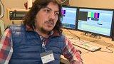 Syrský novinář - uprchlík