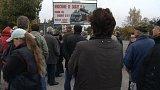 V Lišově na Českobudějovicku místní odstartovali sérii protestů