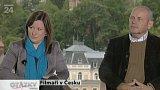 Jiří BESSER /nestraník za T0P09/, ministr kultury; Matthew STILLMAN; Ludmila CLAUSSOVÁ; Michal MEJSTŘÍK