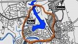 Kvůli  vypouštění táborské nádrže Jordán hrozí až třetině města evakuace