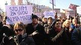 Studenti proti rozhodnutí akreditační komise