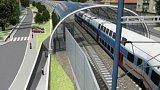 Nové železniční zastávky v Praze