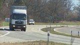 Nebezpečná silnice – Ostrovačická