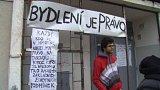 Aktivisté obsadili ubytovnu v Ústí nad Labem