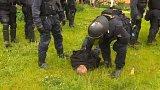 Třetí obvinění kvůli protestům v Českých Budějovicích