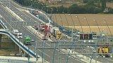 Nehoda kamionů zablokovala pražský okruh