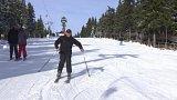 V Česku se opět lyžuje