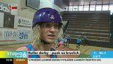 Roller derby - punk na bruslích