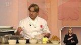 Vaření: Jan Basovníček – houby, jablka, švestky 1. část