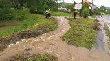 Bouřky dělají starosti lidem na východě Čech