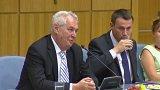 Prezident Miloš Zeman zahájil třídenní návštěvu Libereckého kraje