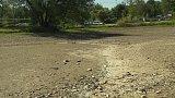 Pražská koupaliště Šeberák a Lhotka bez vody
