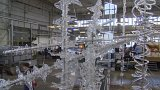 Legenda českého sklářského designu René Roubíček představil plastiku pro Expo 2015 v Miláně