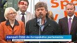Kampaň ČSSD do Evropského parlamentu