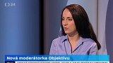 Nová moderátorka Objektivu