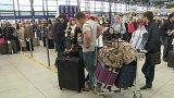 Chyba v systému britské aerolinky