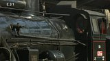 Legiovlak na žižkovském nádraží