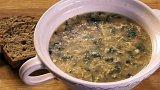 Polévka z jarních bylinek