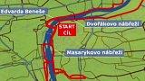 Půlmaraton: dopravní omezení v centru Prahy