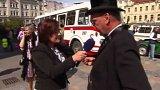 Historická rallye v Ostravě