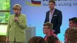 Přešlap německé kancléřky