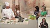 Poprvé do školy – stravování školáků - Veronika Březková a Gerhard Schrötter - šéfkuchař školní jídelny (1. část)