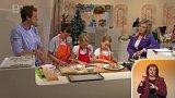 Pečení cukroví s dětmi - 1. část