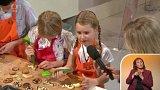 Pečení cukroví s dětmi - 3. část