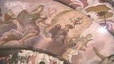 Obnova fresek v kostele Milosrdných bratří v Prostějově
