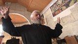 Fresky v pravoslavném chrámu