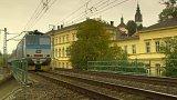 Zaniklá zastávka a železniční tunel v Litoměřicích