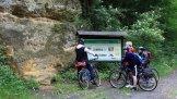 Na kole údolím Polepky