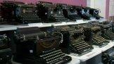 Výstava psacích strojů