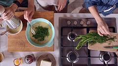Zeleninová koprovka sjáhlami podle Hanky Zemanové