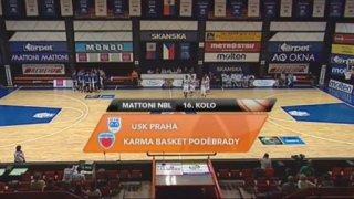 USK Praha - Karma Basket Poděbrady