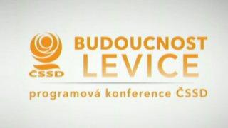Budoucnost levice - programová konference ČSSD