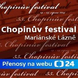 ČT24 - Chopinův festival