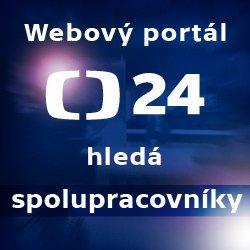 ČT24 - Hledáme spolupracovníky
